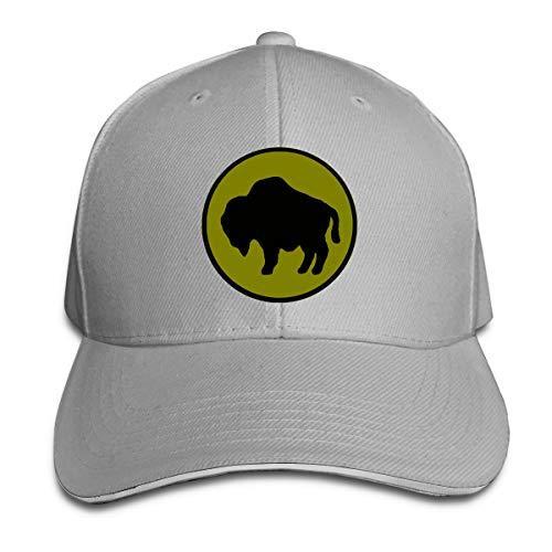 92 Piyade Bölümü Beyzbol Şapkası Ayarlanabilir Çatılı Sandviç Şapka Unisexe Erkekler Kadınlar Beyzbol Spor Dış Mekan Hip-hop Strapbacks şapka