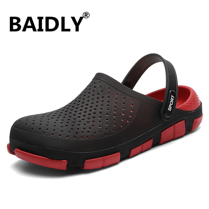 Outdoor Casual Walking Beach Sandals Men Water Shoes Summer Fashion Men's Slippers Sapatos Hembre Sapatenis Masculino