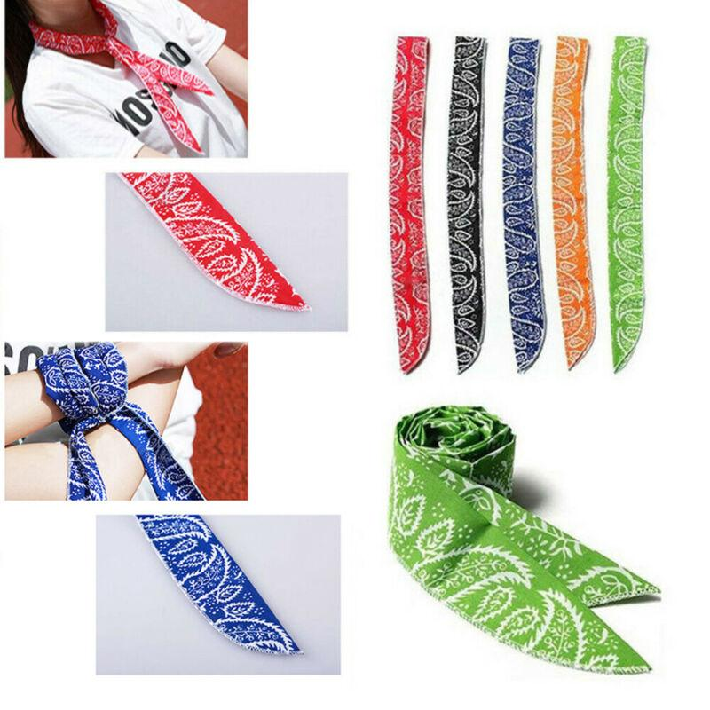 New Wrap Cooling Towel Cooler Tie Body Neck Headband Sports Ice Scarf Fashion