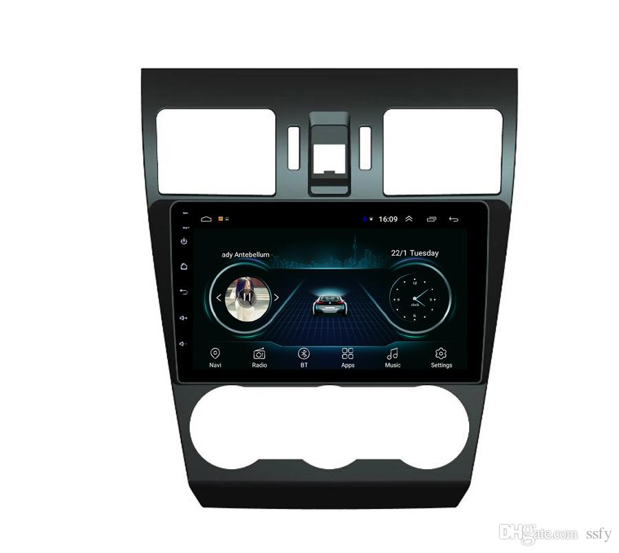 Android car player with precise GPS Resolution HD 1024 * 600 microphone bluetooth fast delivery for Subaru forester WRX XV 2012-2014 9inch