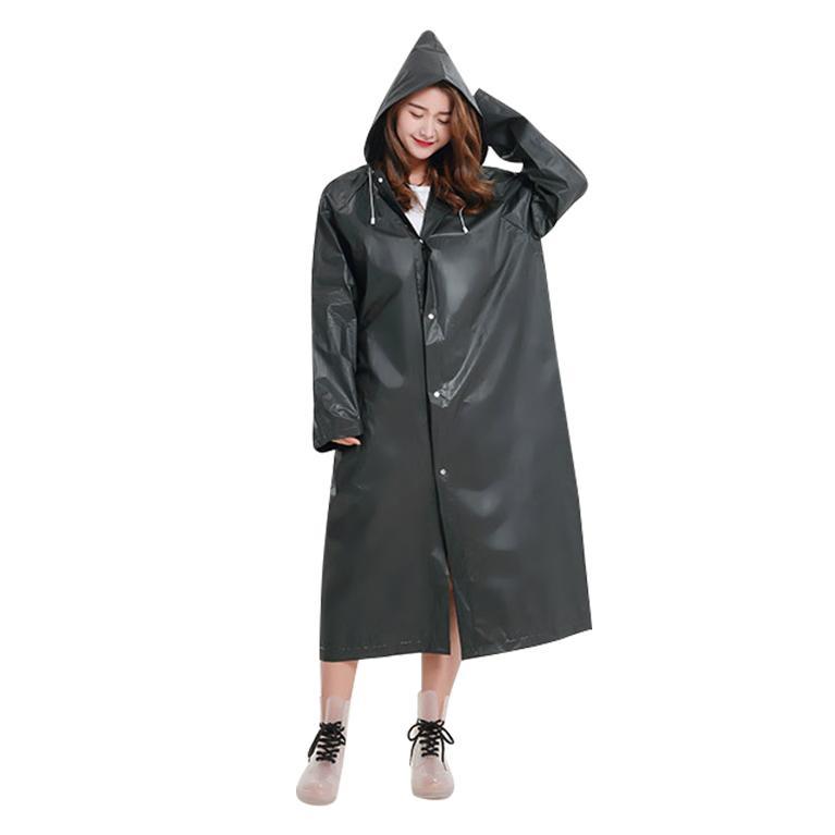 Fashion Eva Raincoat Waterproof Raincoat Transparent Camping Waterproof