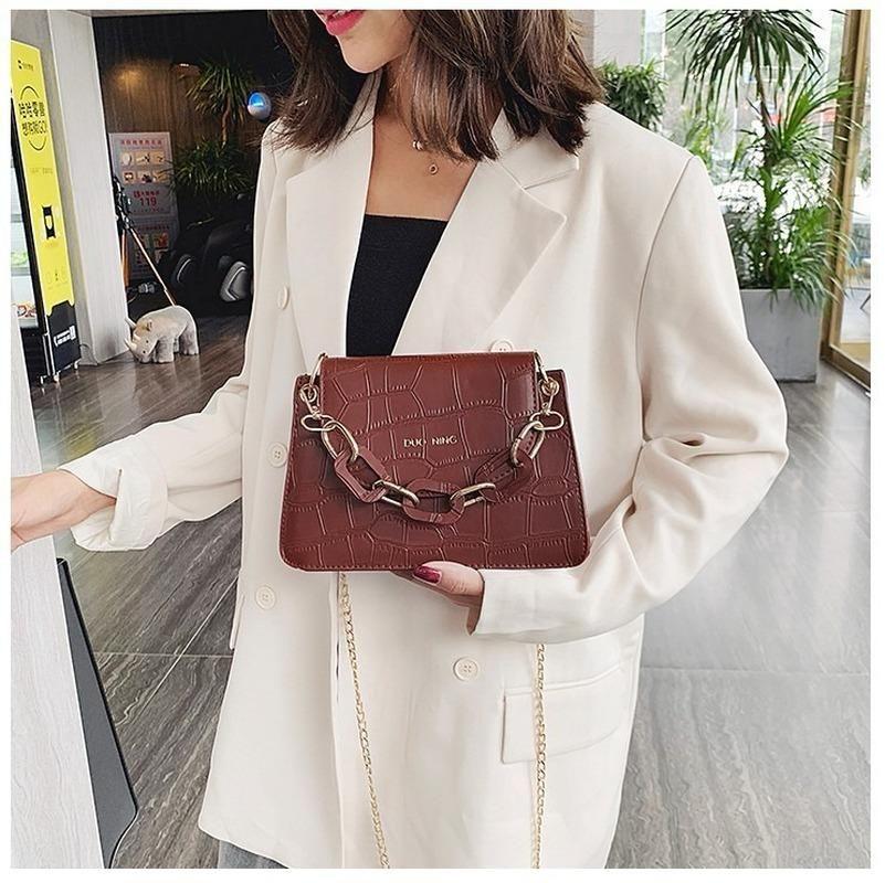 2019 новые женские сумки на ремне сумки мода крокодил шаблон дамы сумочку Кроссбоди моды небольшой площади