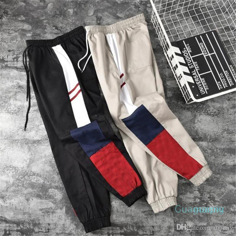 Mens Designer Cargo Pant Hip Hip Streetwear Sport Marque joggeurs Hommes Pantalons Femmes Designer Pantalons Sport Casual Pant Pantalon Taille S-2XL rh9
