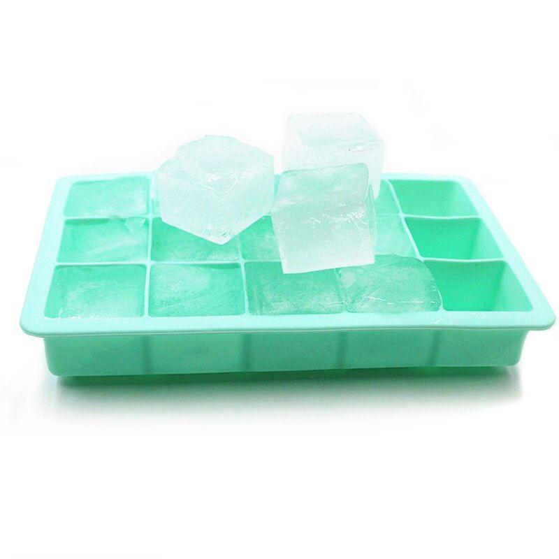 Silikonform für Eis-Form-Behälter Frucht-Eis am Stiel Eiscreme-Hersteller für Wein-Party Kitchen Bar Trinken Zubehör 5 Farben
