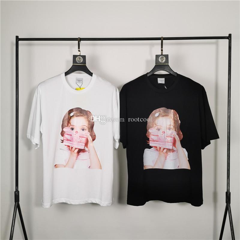 Acme De La Vie ADLV Brand Designer Лучшие качества Мужчины Женщины T-Shirt Мода для печати Тройники с коротким рукавом # 2024