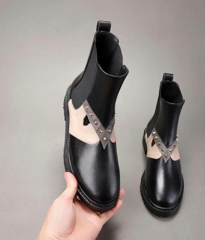 bottes chaudes femmes vendre- pluie italianisant caoutchouc rainboots Galosh Pluie à court cheville Gummistiefel Rainboots Femme en caoutchouc Damen