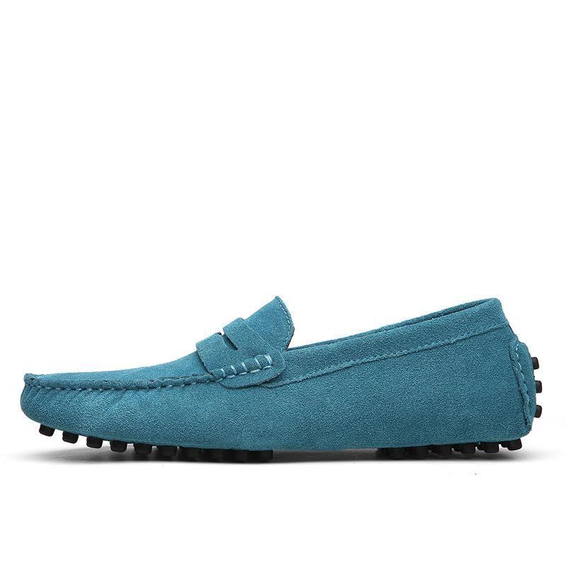Non-Brand новый дизайнер Мокасины Обувь Slip-на мужские повседневные Chaussures мужские кроссовки платье Синий Красный Черный Бесплатная доставка Размер 40-44L05