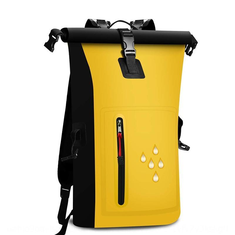 deportes al aire libre a la deriva con malla para deportes al aire libre bolsa bolsa impermeable de PVC mochila impermeable