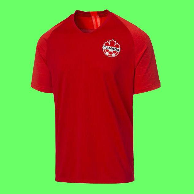 19 20 Kanada Erkekler Futbol Forması 2019 2020 Kanada Ulusal Takım Futbol Gömlek Camiseta De Fútbol Camisa Futebol Maillot de Foot