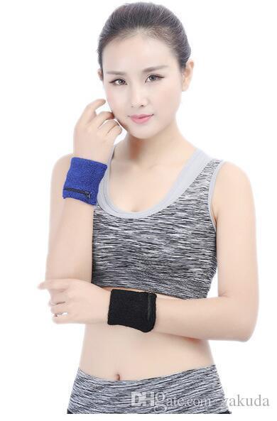 Design Bestes Modische High-End-Tasche mit Reißverschluss Handtuch Sport warmen Armband Sportschutzes für Männer und Frauen Sport Sicherheit Handgelenkstütze