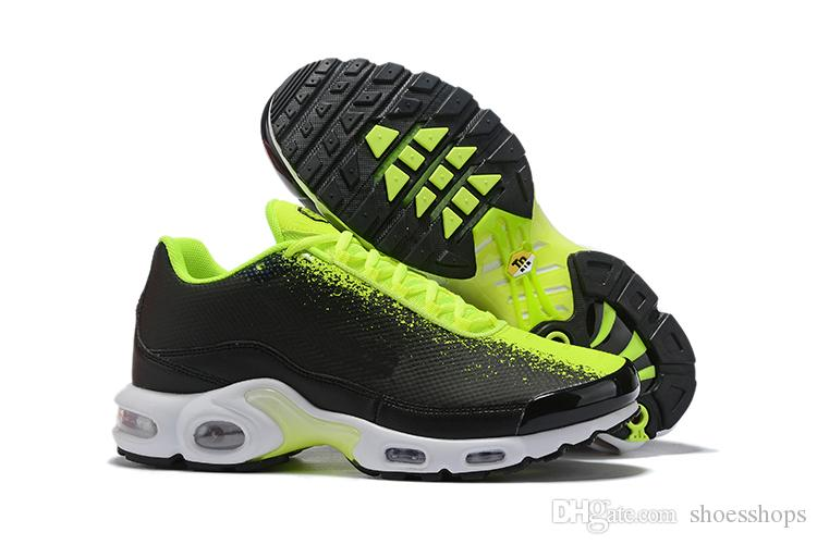 2020 New Designer Air Tn Plus GS Mens RunnING Sports Shoes Cheap Tn Sunburst 3D White Black Chaussures Requin Homme SE Zapatillas Sneakers Running