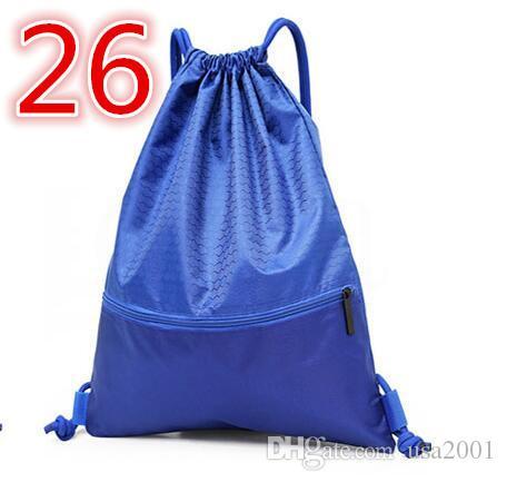 2019 Estadio nueva Borrar monedero aprobados camisetas de fútbol bolsa de almacenamiento ventilador accesorios Easy Bag profesionales jerseysd0001026
