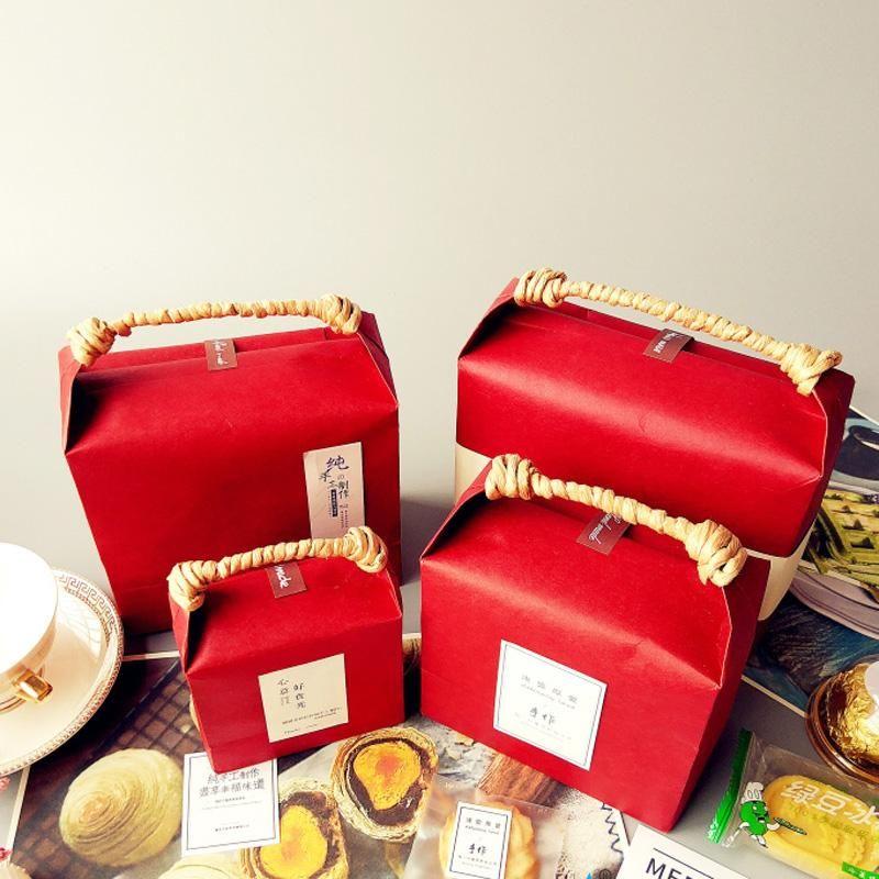 Kraft paper rice bag tea packaging bag brown sugar tea packaging bag black sugar packaging bags