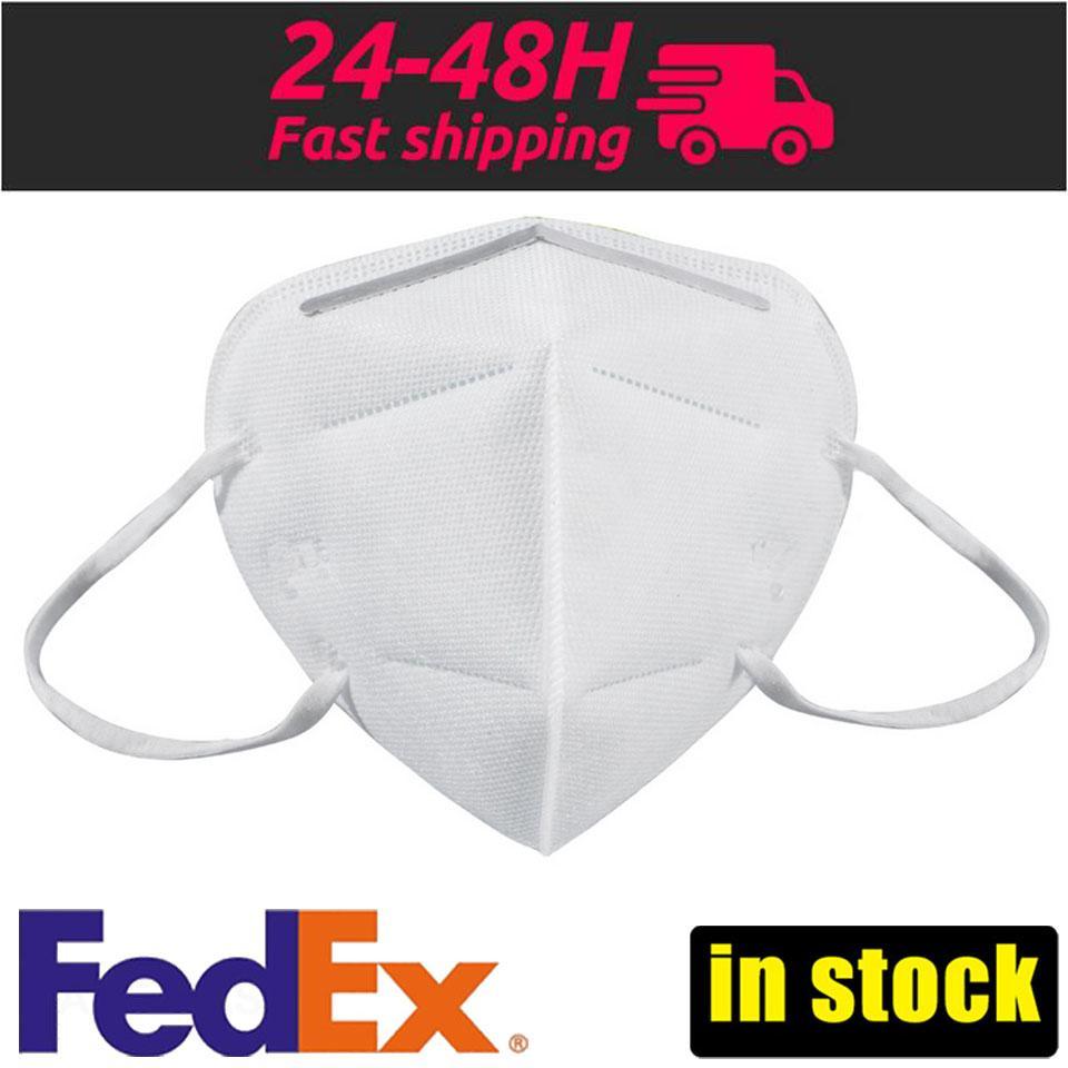 ¡En stock! KN95 N95 Máscara FFP2 Máscara Máscaras desechables Face anti polvo protectora a prueba de polvo PM2.5 la máscara de envío rápido
