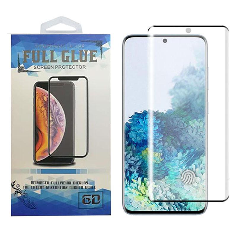 Completa Glue 3D Curved protetor de tela para Samsung S20 Ultra Nota S10 Além disso S10e Caso amigável vidro temperado alta Sensitive Unlock Fingerprint