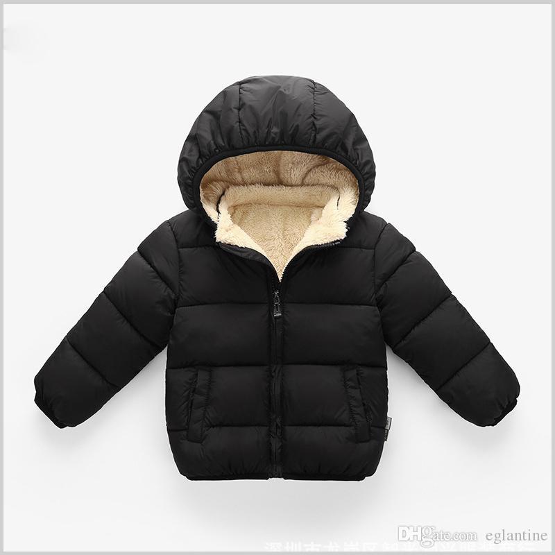 Baby Mantel Jungen Winterjacken für Kinder Herbst Oberbekleidung Mit Kapuze Säuglingsmäntel Neugeborene Kleidung Kinder Schneeanzug verdicken