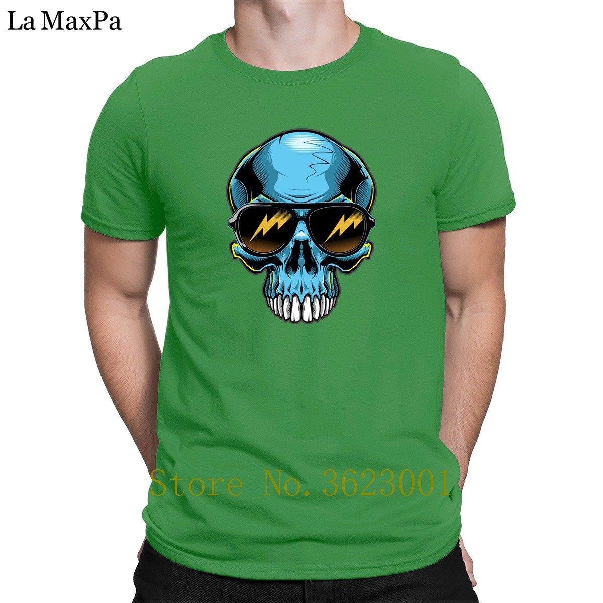 Web siteleri Erkekler Tişörtlü Krom Kafatası Erkek Tişört Üst Kalite Vintage Erkek Tee Gömlek Comical Tişörtlü Yaz Stili Pamuk oluştur