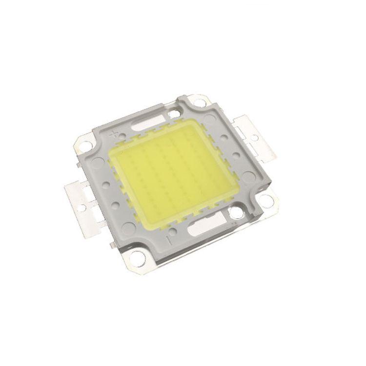 Stokta kargo ücretsiz 50pcs Bridgelux Çip COB LED Chip 10W 20W 30W 50W 70W 80W 100W Soğuk Beyaz 6000-6500k