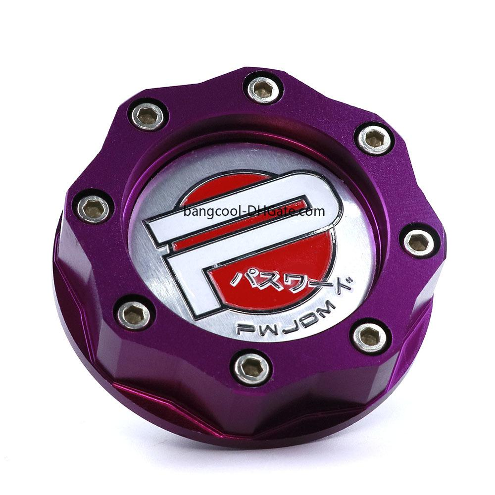 Red Oil FILL Cap Valve Cover Fit For Honda Acura Si With Password JDM Logo
