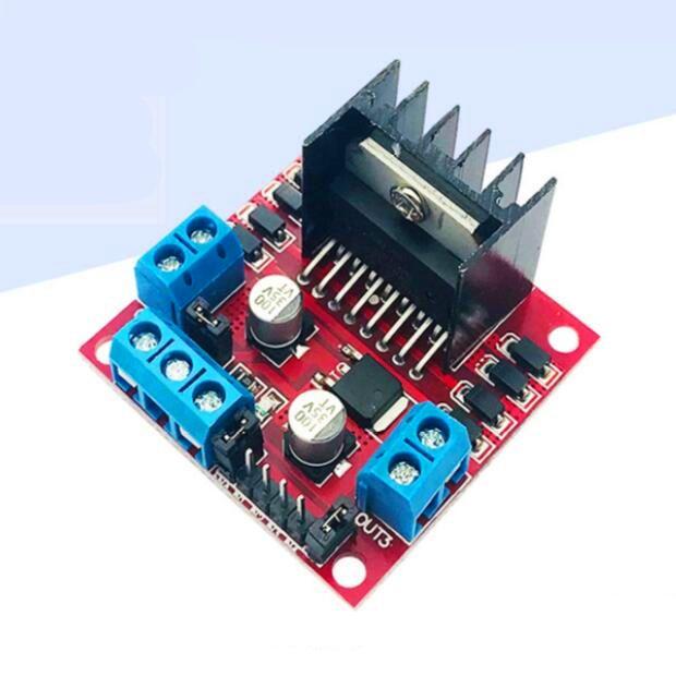 2 개 L298N 모터 드라이버 보드 모듈 / 스테퍼 모터 모듈 / 스마트 자동차, 로봇 드라이버