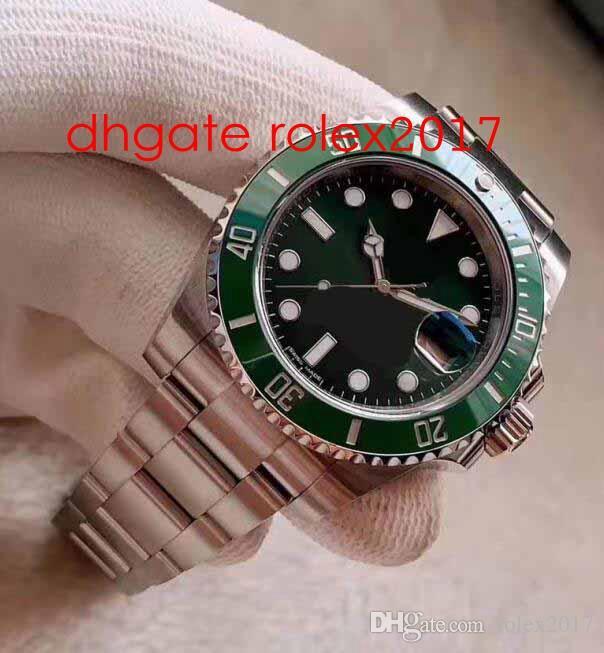 Super Fabrik Beste Qualität V8 Version N 316 Stahl 40mm 116619 116610LV Keramik ETA 2836 Bewegung Automatische Herrenuhr Uhren