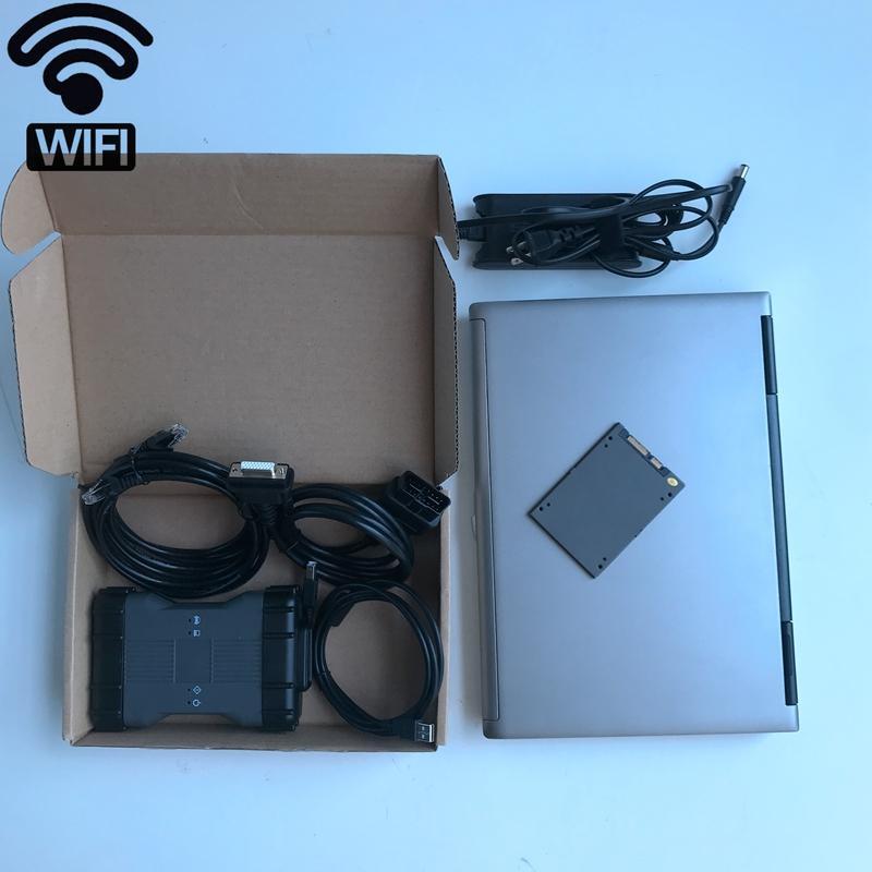 ميغابايت ستار C6 SD C6 مستعمل الكمبيوتر المحمول D630 4 جرام 360 جيجابايت SSD دوي مضاعف واجهة Soft-Ware V06 / 2020 ل SD C4 C5 C6 أداة تشخيص السيارات