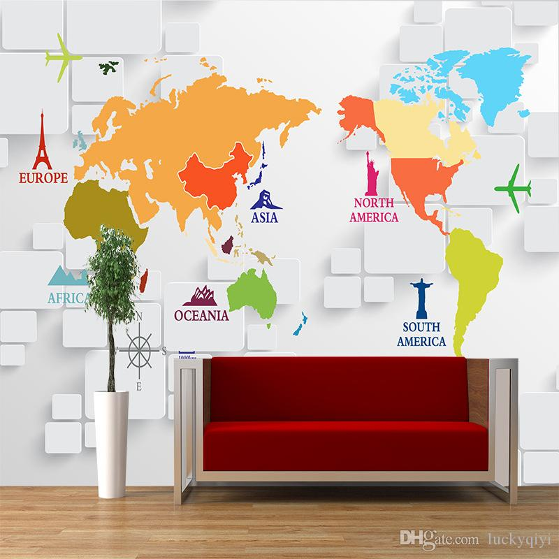 Large Mural Office Living Room Tv Wall Paper Childrens Room