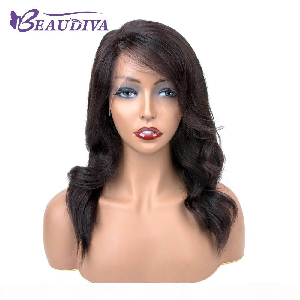 Brasiliana Frontal del merletto dei capelli umani parrucche per le donne dei capelli di Remy parrucca con capelli del bambino naturale della linea sottile completa Fine