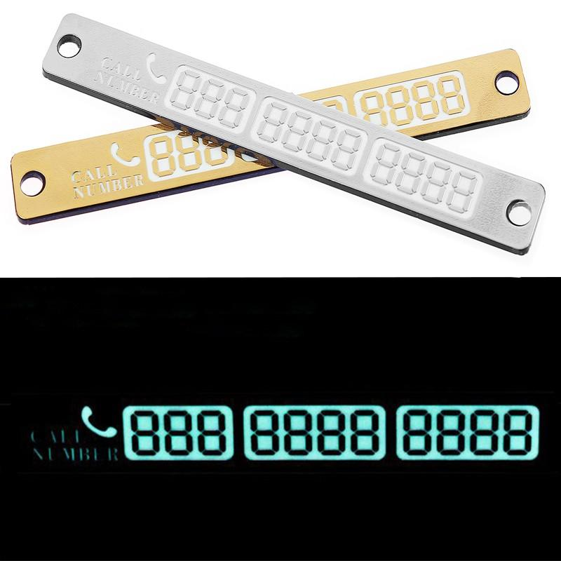 15-2cm-Car-Styling-Telephone-Number-Card-Temporary-Car-Parking-Card-Notification-Night-Luminous-Sucker-Plate