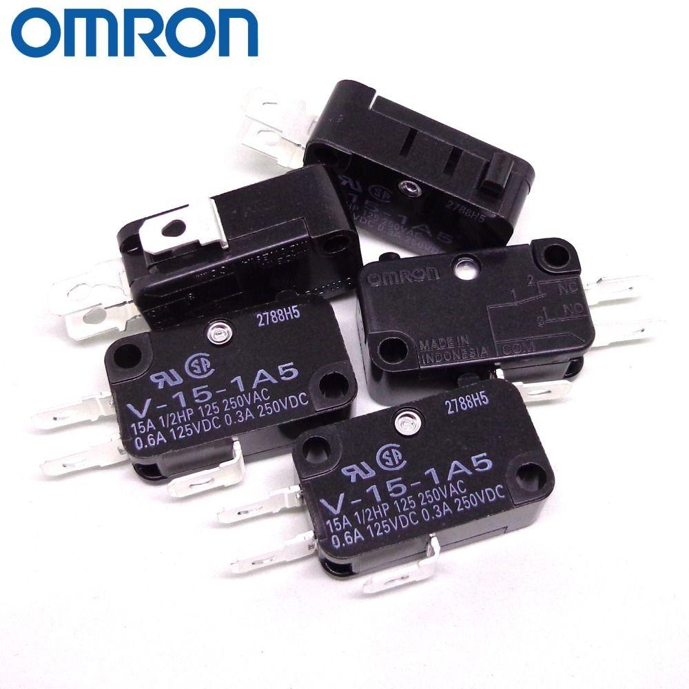 10PCS originale OMRON micro commutateur V-V-15-1A5 152-1C25 V-153-1C25 V-V-155-1C25 156-1C25 nouveau commutateur micro OMRON et originales T200605