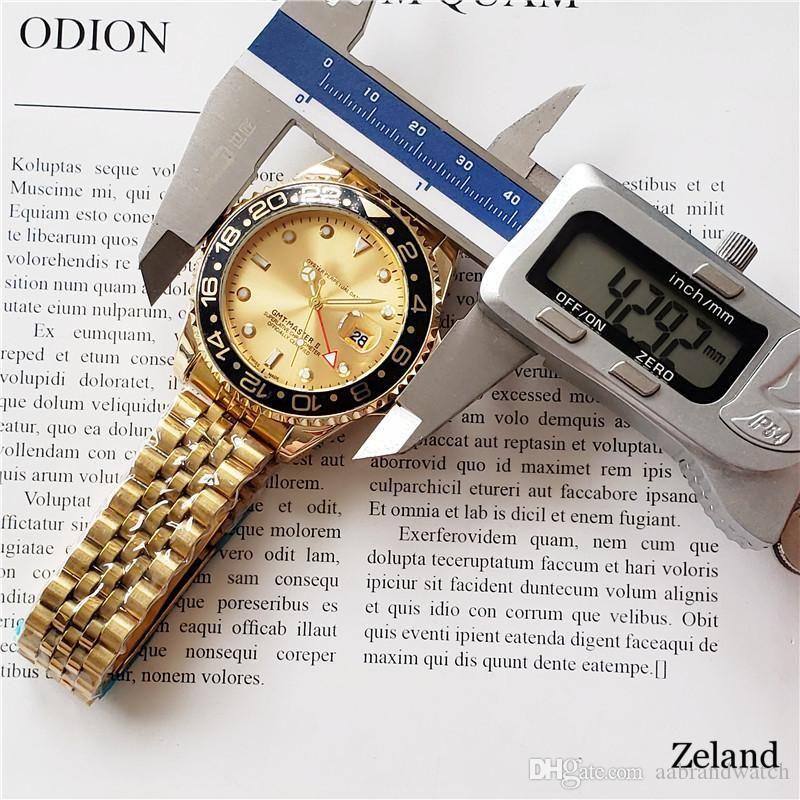 Luxusuhr automticMechanical Uhren Luxus Herrenuhren Alle Pointers Arbeits Edelstahl-Band Geschäfts Uhren Luxus relogio masculino