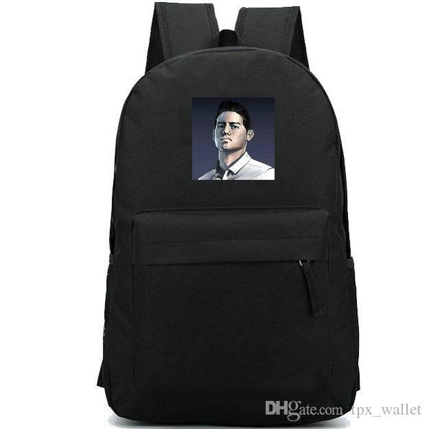 جيمس Rodriguez ظهره J David football daypack كرة القدم طباعة الحقائب المدرسية دائم حقيبة الظهر عارضة حقيبة مدرسية في الهواء الطلق حزمة اليوم