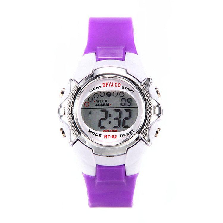 Transparente wasserdichte Uhr der Sportuhr leuchtende elektronische Uhr im Freien