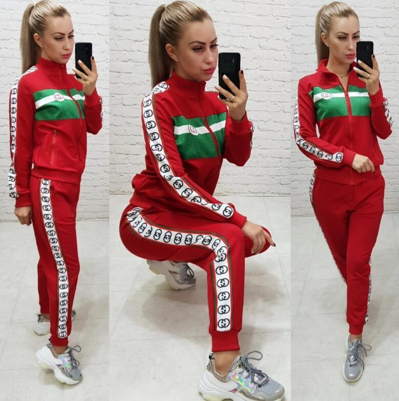 2019 2020 Palaces Women Tracksuit D7Gucci Hoodie Pants Set Casual  Comfortable Yoga Sports Outdoor Long Sleeve Tops Jogger Clothing Set From  Zywang97,