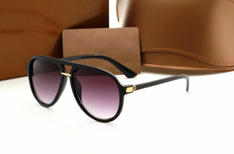 Männer hochwertiger Leder Sonnenbrille Designer Retro Buffalo Sonnenbrille klassische weibliche Steigung Sun Glas Männer Weinlese Sun Glasses
