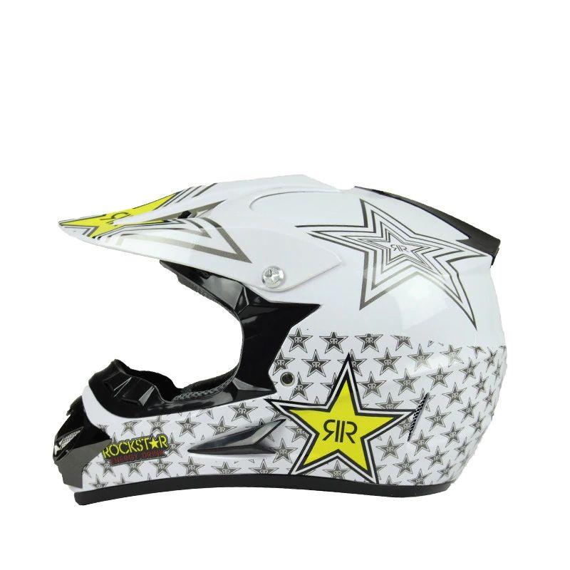 hxlmotostore rockstar casco moto atv sporco bici downhill croce capcete da motocicleta cascos motocross fuori elmetti stradali
