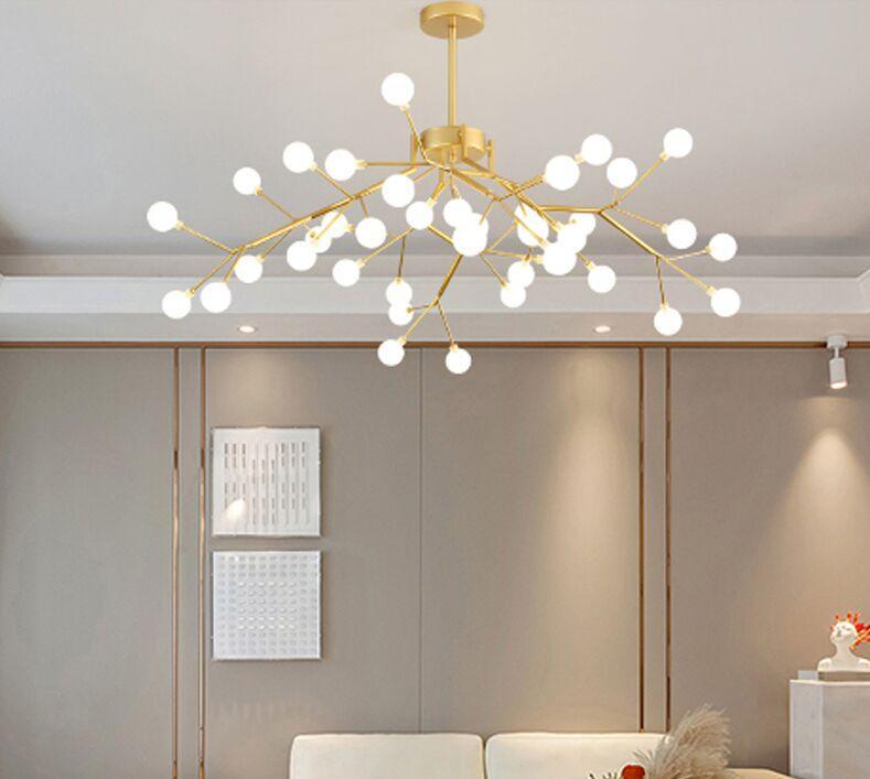 Postmodern Minimalist Molo Molecule LED Lampadario Lampada a sospensione Nordic Soggiorno Lampada da pranzo Creativo Sala da pranzo Lampadari per personalità
