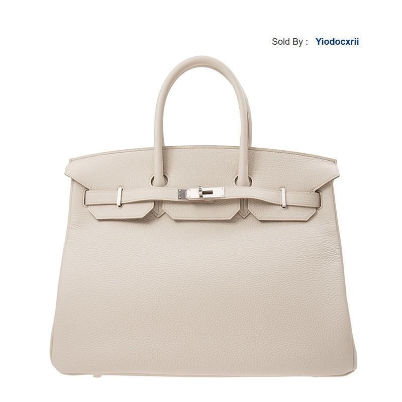 yiodocxrii KMZ3 Handbag 35 8l Beige Silver Buckle Handbag Bk358ltgss-ba9906 Totes Handbags Shoulder Bags Backpacks Wallets Purse