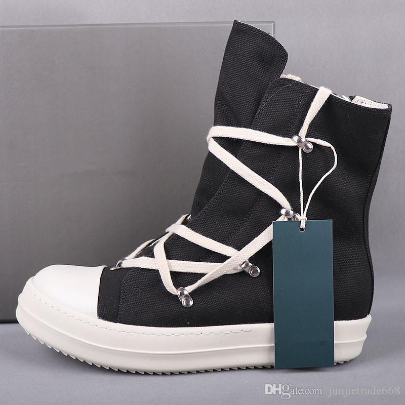 Pentagram высокой верхней холст обувь весна и осень геометрии мужчины спорта и отдыха обувь Выход фабрики прилив заклепками сапоги женские