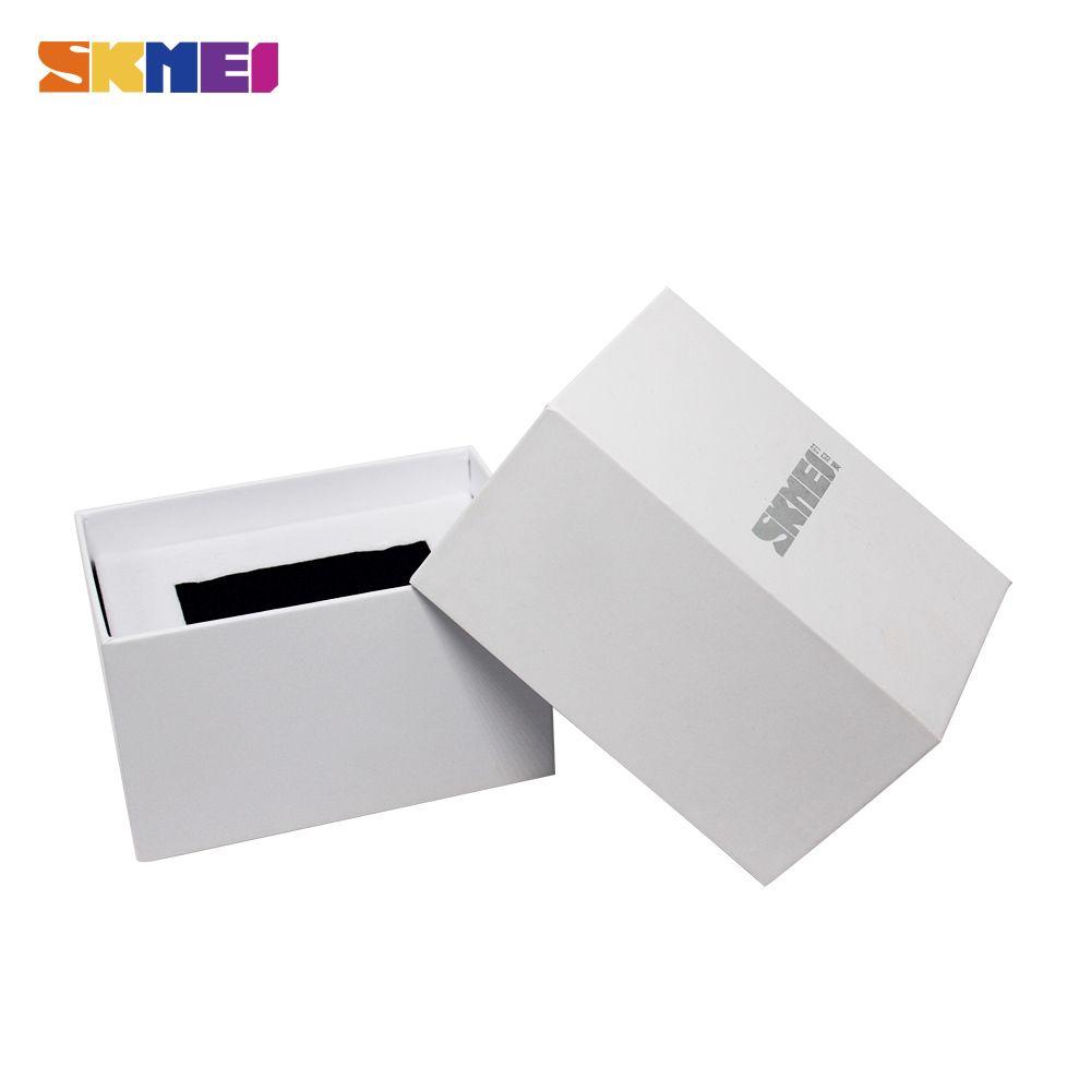 New Original SKMEI Brand Watch Box White Good Quality Protect Watches For Gift Boxes Caixa De Relogio