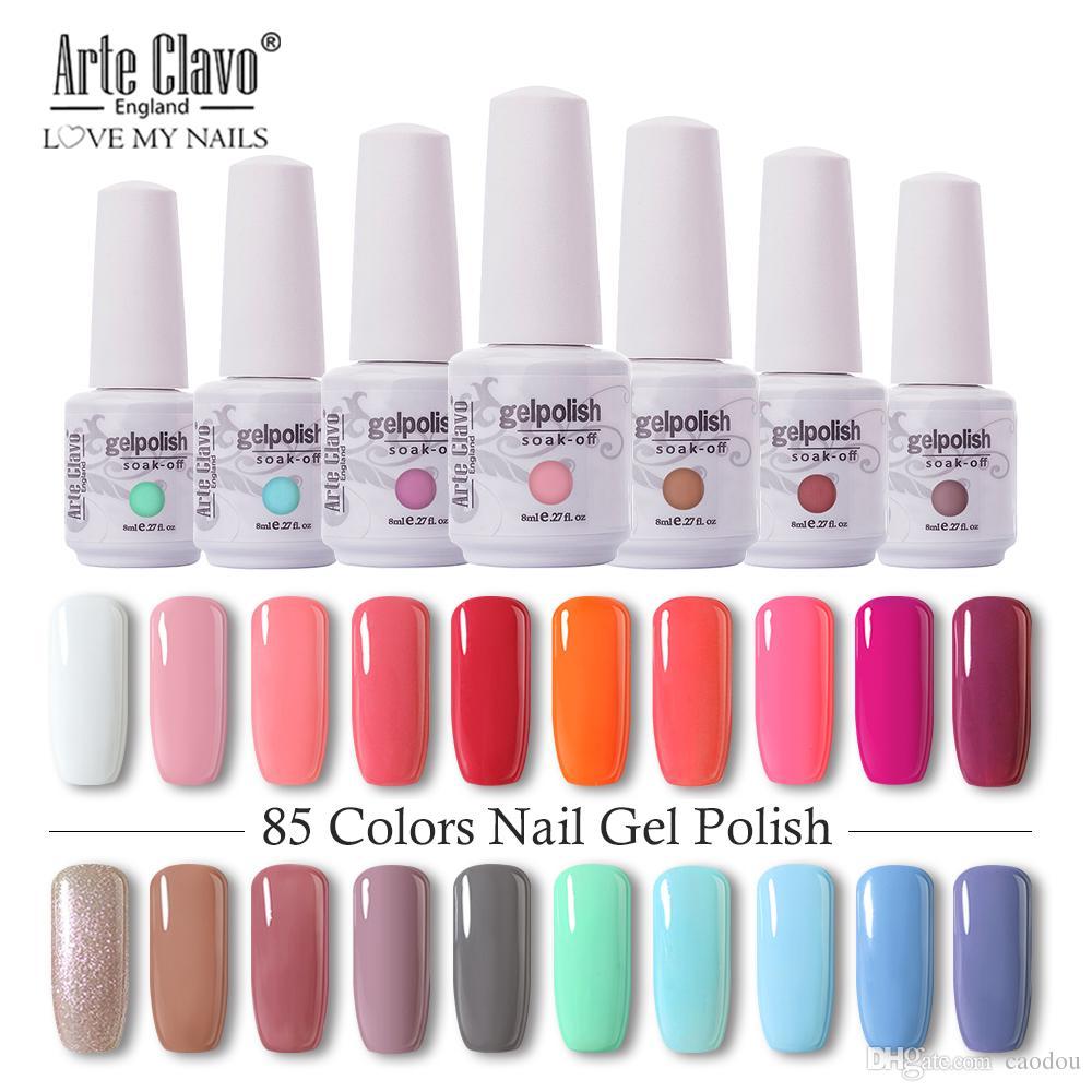 Parfait été Gel Nail LED UV Soak off ongles Gel Polish long polonais 6 pièces Lasting 8ml Varnish