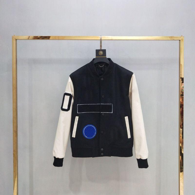 19FW Andys Европейский бейсбол пальто единообразно высокого качества однобортный теплая куртка Пары Женщины Мужские пальто HFKYJK012