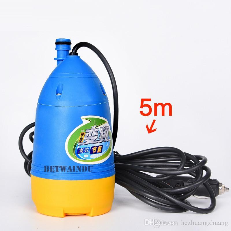 80W High Pressure Water Pump Portable Car Washer Pressure Water Gun Washing Machine 12V