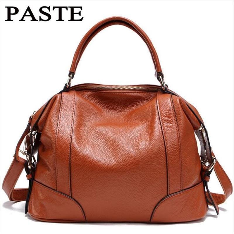 100% Genuine Leather handbags designer women messenger bags European and American Style fashion women bag handbag Crossbody Bags
