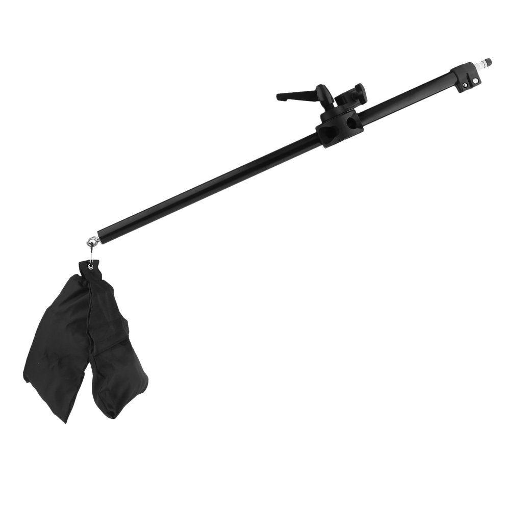 Freeshipping 78cm-141cm الكاميرا عبر ذراع قوس تلسكوبية ذراع بوم حامل الأعلى كاميرا قبة مصباح ضوء دعم صور الاستوديو الملحقات