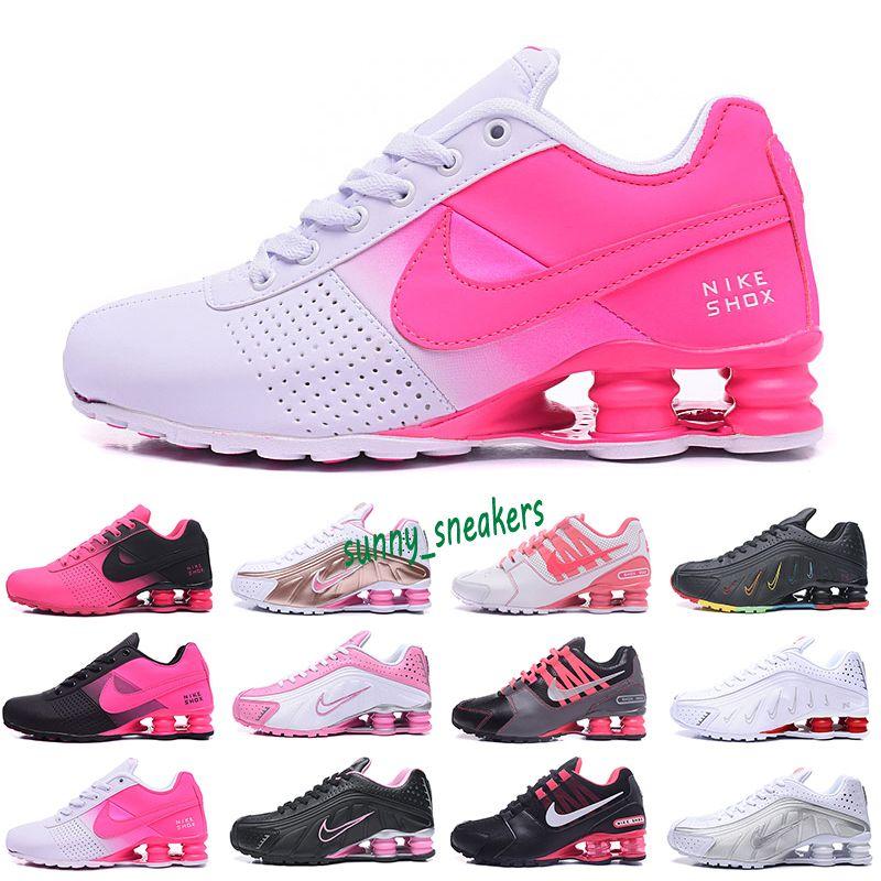 Nike Air Max Shox 809 بالجملة 2020 عالية الجودة شارع الرياضة الاحذية للسادة الرجال الهواء تسليم NZ R4 المرأة عداء حذاء رياضة رجل المدربين تنس 36-40 S9