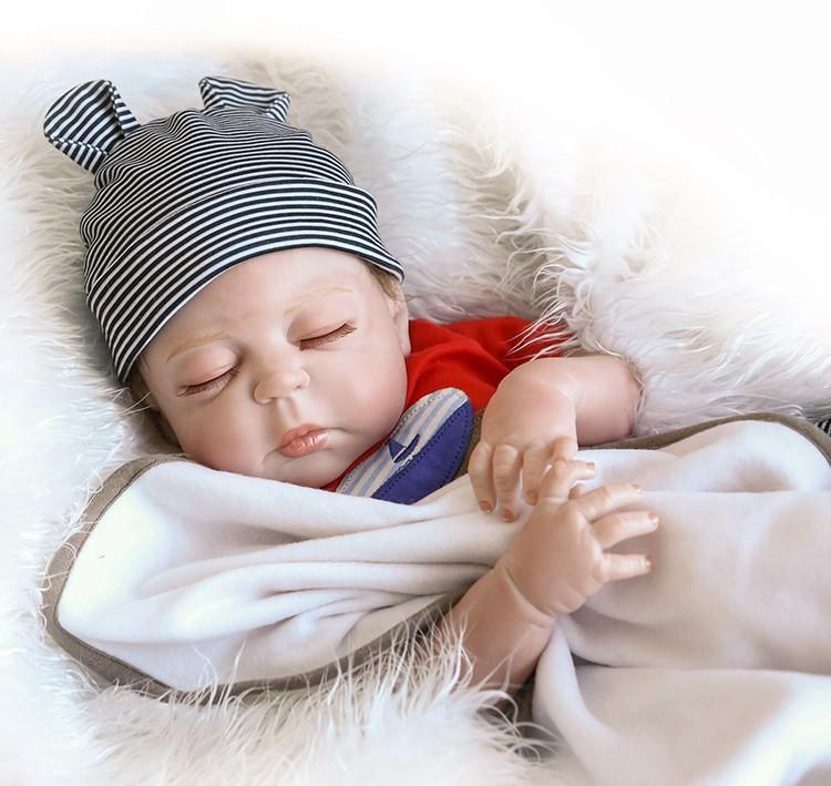 hxldo бесплатная доставка Бебе Reborn куклы Реалистичная кукла мягкая силиконовая Полное тело Виниловые Boneca кукла для девочек День рождения игрушки лол куклы suprice