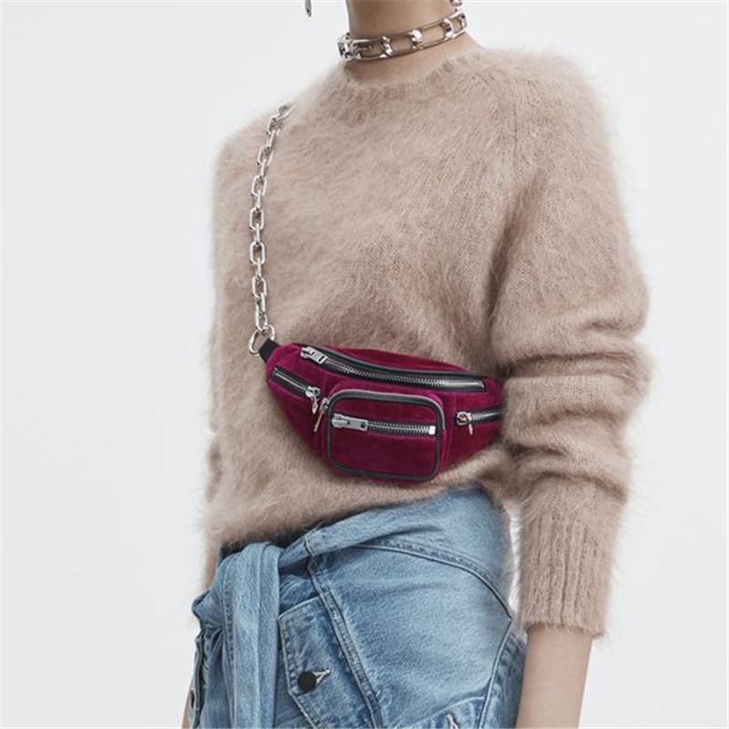 Cinto da cintura Saco redondo Mulheres qualidade para o ombro saco Novas mulheres de alta fêmea nova moda pack cintura ogxiu
