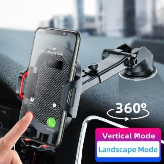 Windshield Gravity Sucker Car Phone Holder For Phone Universal Mobile Support For iPhone Smartphone 360 Mount Stand in Car