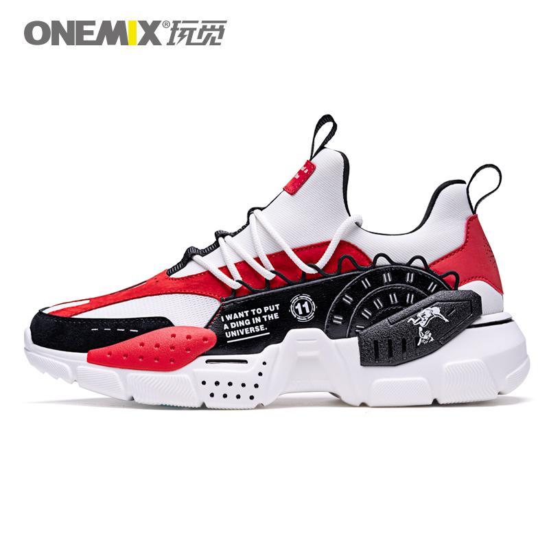 2020 새로운 핫 판매 ONEMIX 스포츠 신발 패션 야외 남성과 여성 캐주얼 편안한 조깅 신발을 증가
